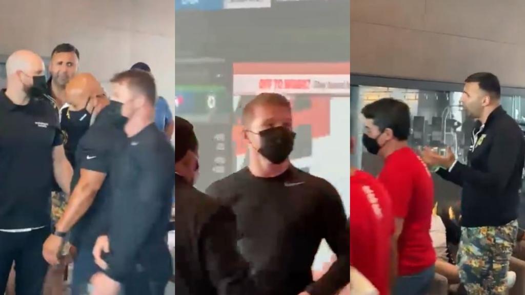 'Canelo' y equipo de Joe Saunders intercambian insultos previo a la pelea