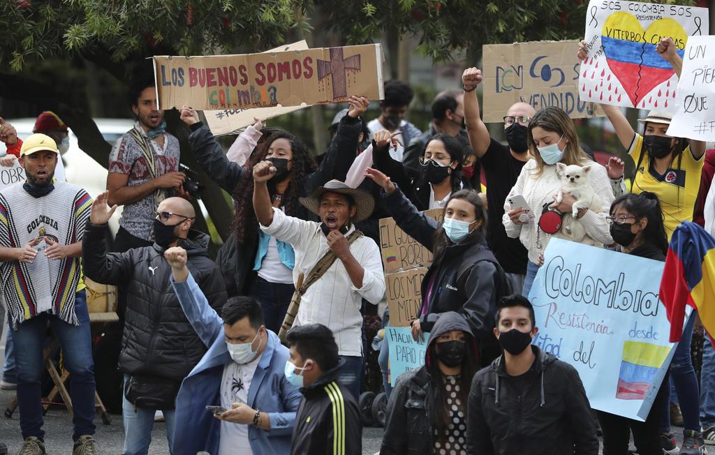 EUA llama al 'diálogo' en Colombia tras protestas que han dejado 19 muertos
