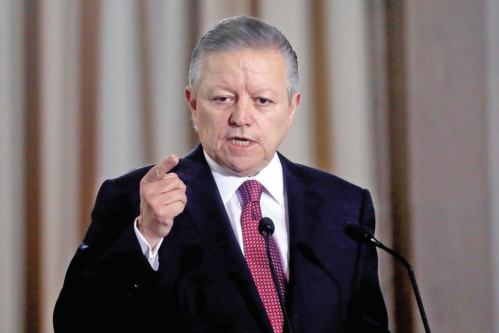 Confirma AMLO que se reunió con Zaldívar en Palacio Nacional