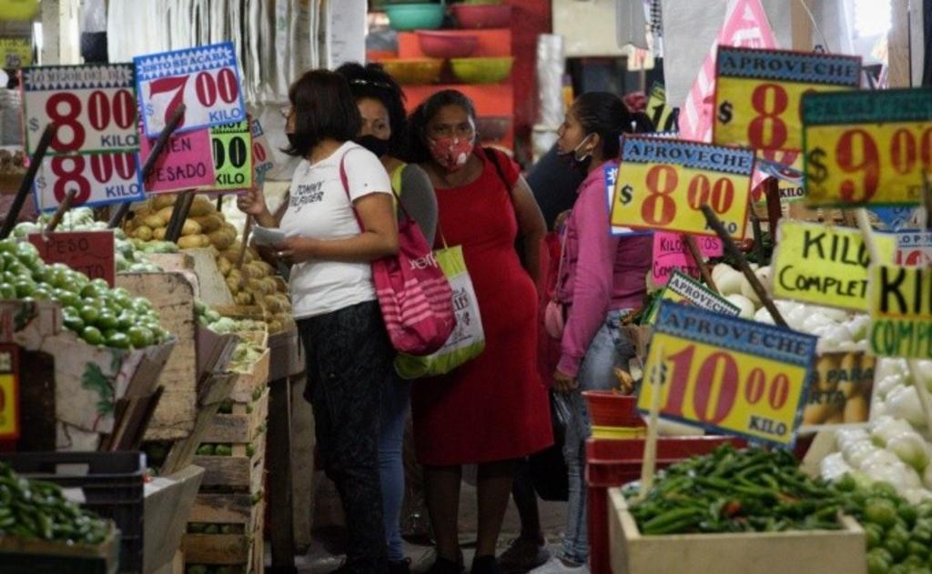 Inflación en México sorprende nuevamentetras alcanzar un nivel más alto de lo esperado