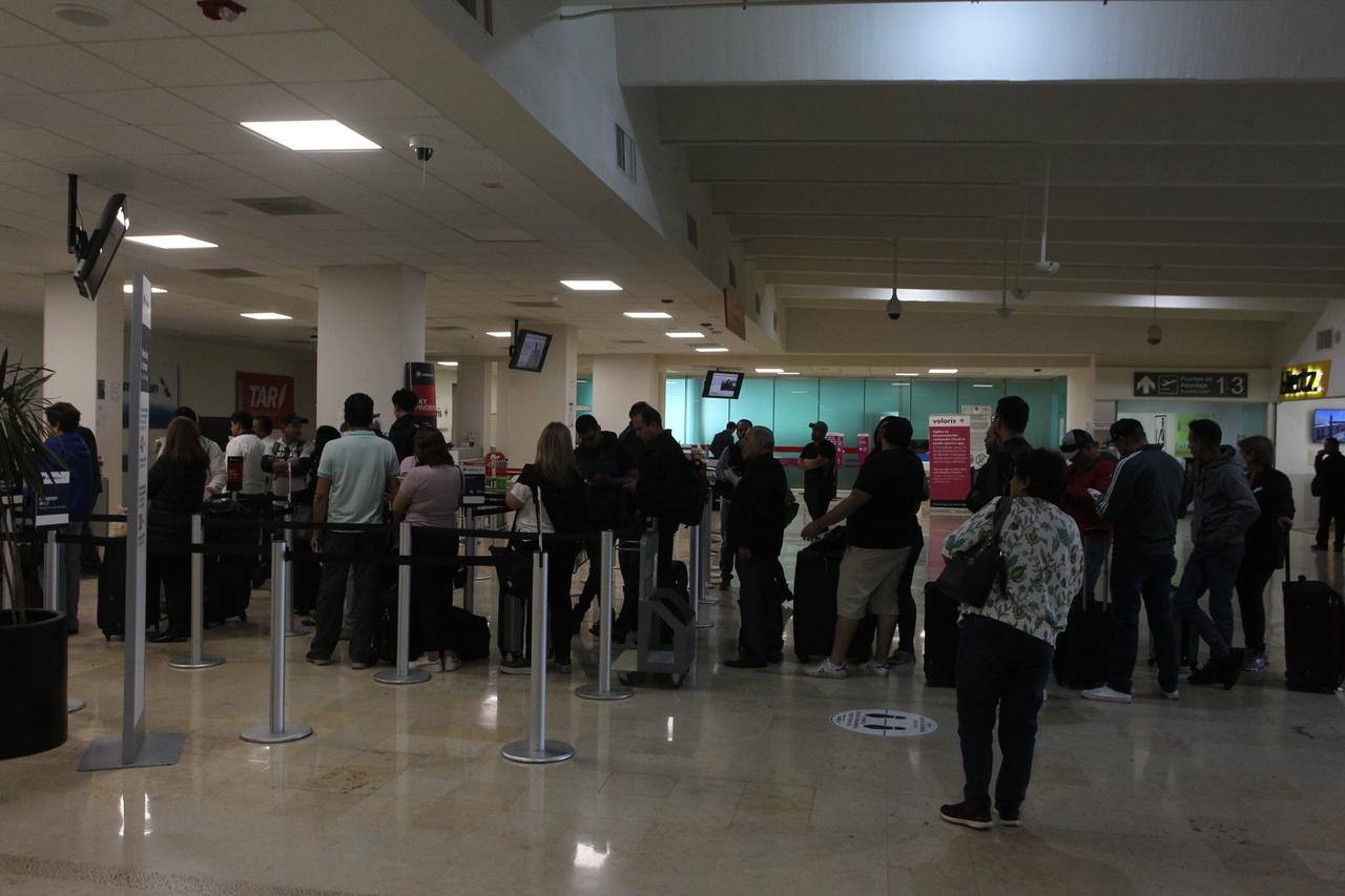 Sigue en aumento el tráfico aéreo en Durango