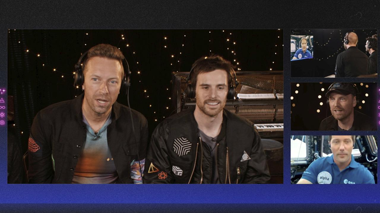 Coldplay estrena sencillo en el espacio