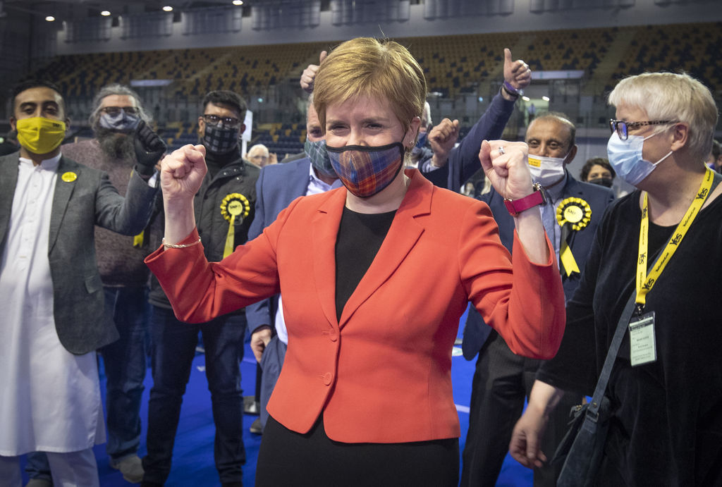 Victoria en Escocia presagia referéndum