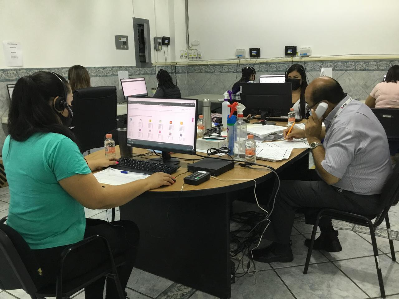 Realizan simulacro de jornada electoral en Durango