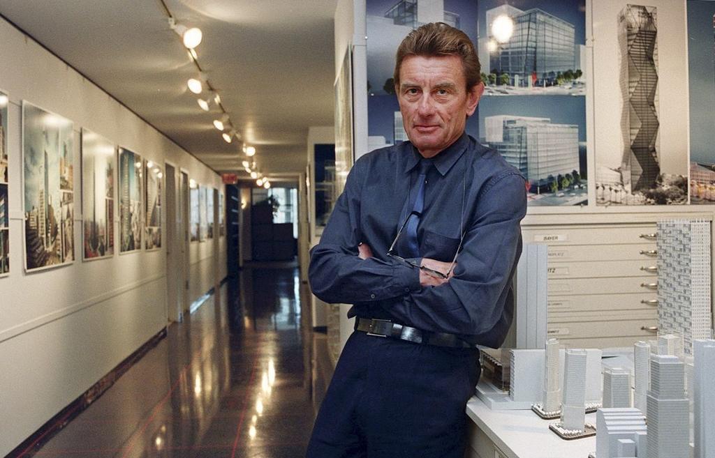Fallece Helmut Jahn, arquitecto que trabajó en diseño de la sede del FBI