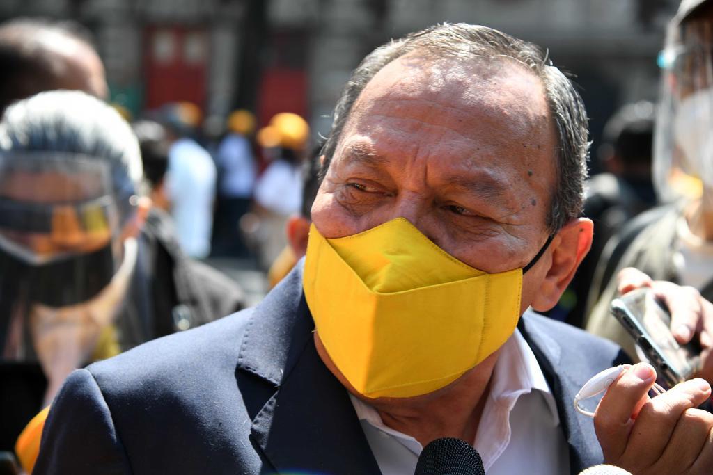 Critica Jesús Zambrano que se 'tire a la basura' cientos de mmdp en Tren Maya