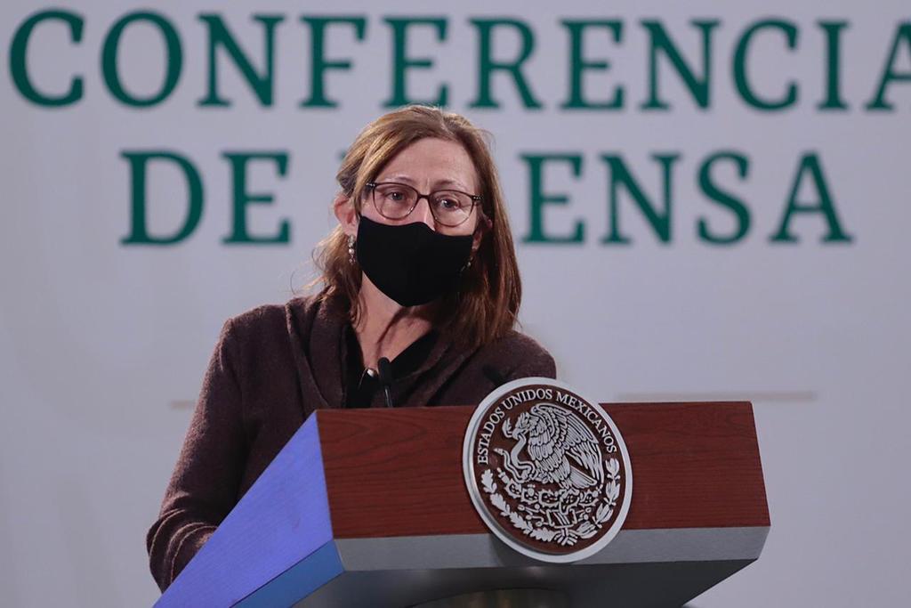 Tatiana Clouthier destaca celeridad en reactivación económica con vacunación antiCOVID