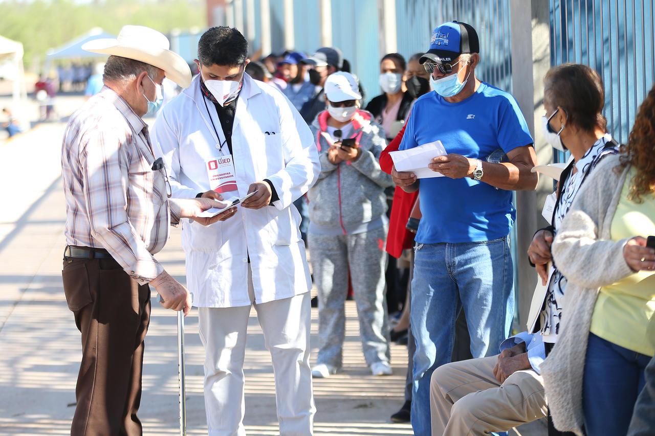 Vacunación a sector de 50-59 años en Durango será el 18 de mayo