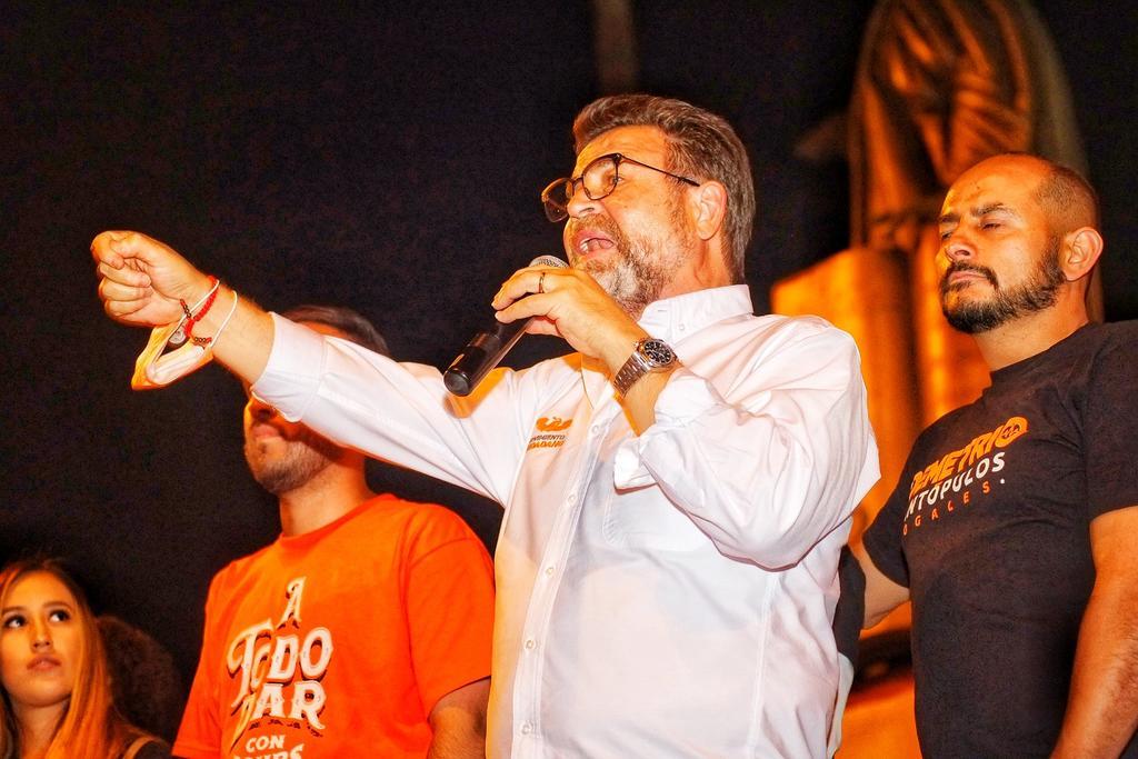Se suma candidato de MC para gubernatura de Sonora a proyecto del aspirante del PRI