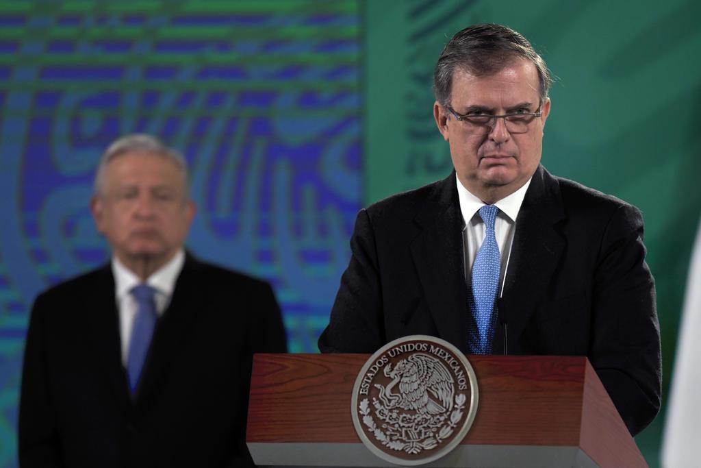 México recibirá un millón de vacunas antiCOVID por día, anuncia Ebrard