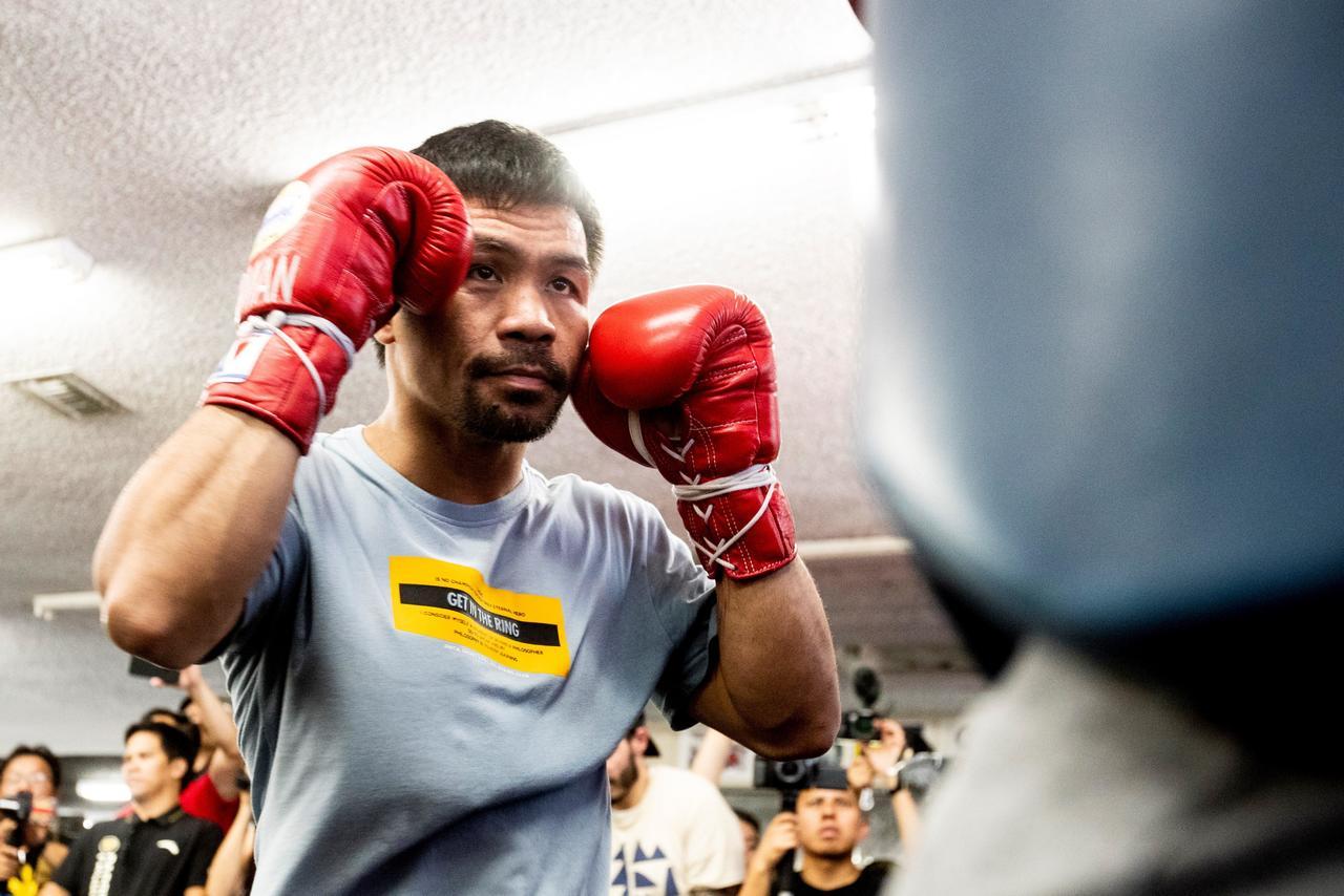 Pacquiao anuncia pelea ante Spence