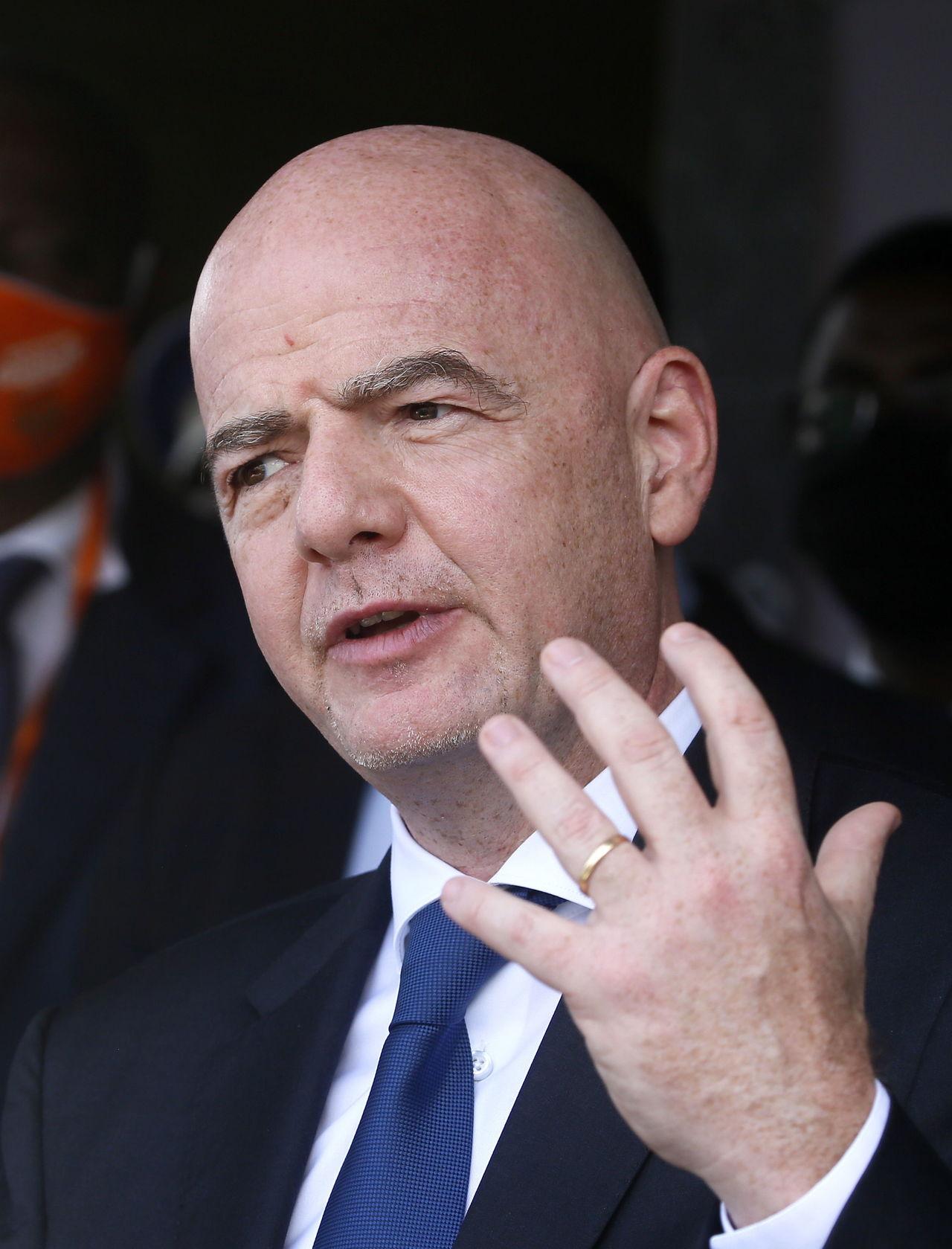 FIFA, en contra de la Superliga: Infantino