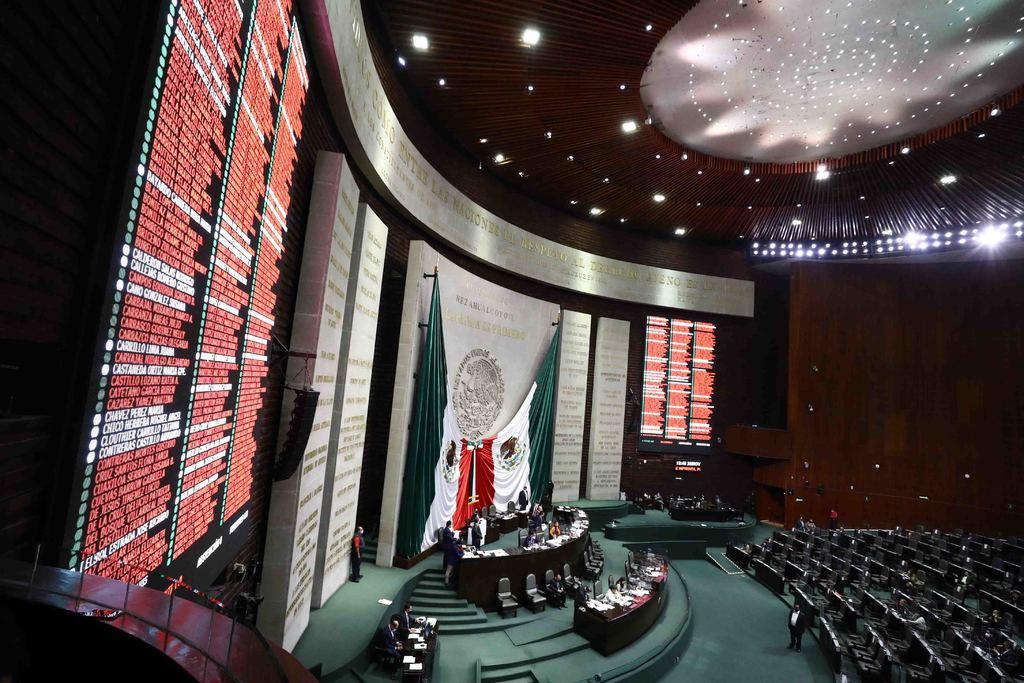 Fuera, 63.2 % de reformas legislativas de Morena