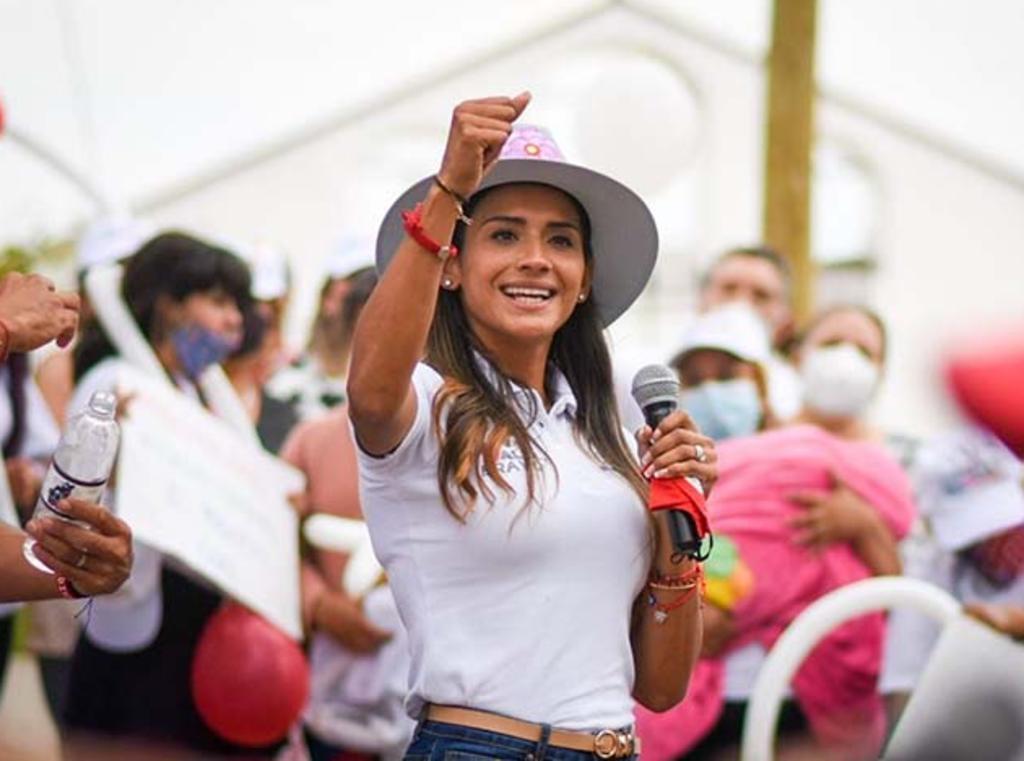 Interpone Zudikey Rodríguez denuncia ante la Fiscalía del Estado de México