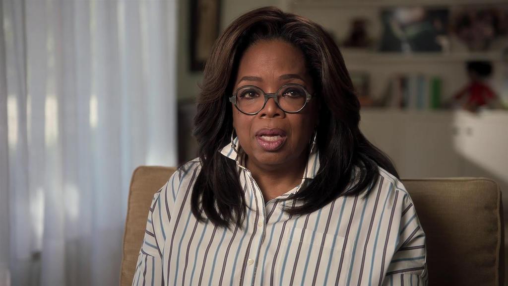 Oprah Winfrey revela que fue violada de niña por varios familiares