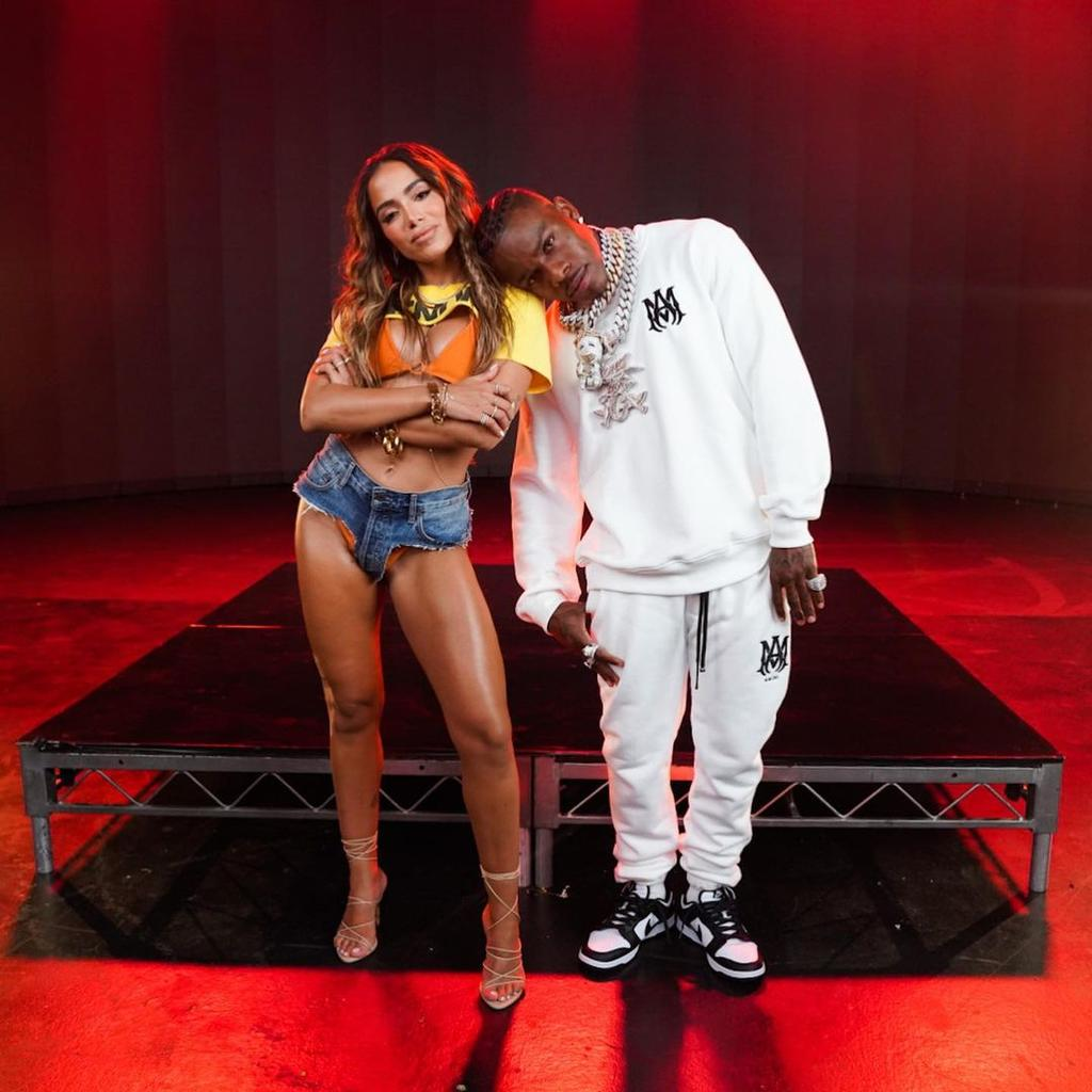 Anitta estrena remix junto a DaBaby