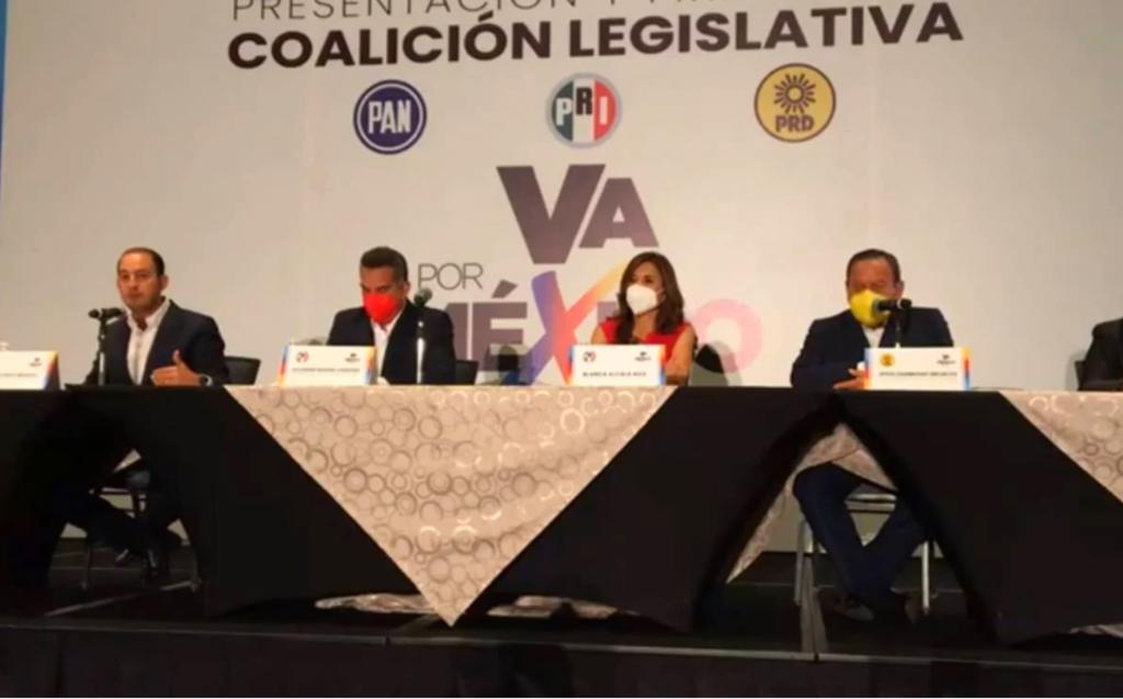 Estos son los 10 acuerdos de la coalición legislativa PRI-PAN-PRD