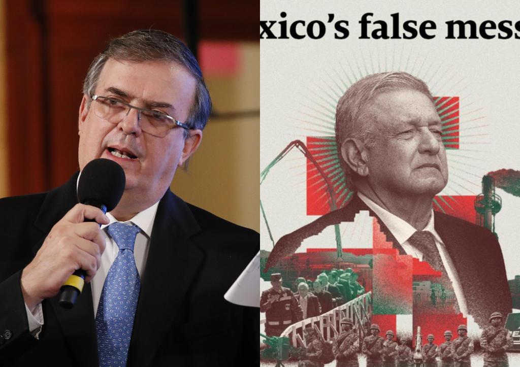 Responde Ebrard a The Economist por portada que critica a López Obrador