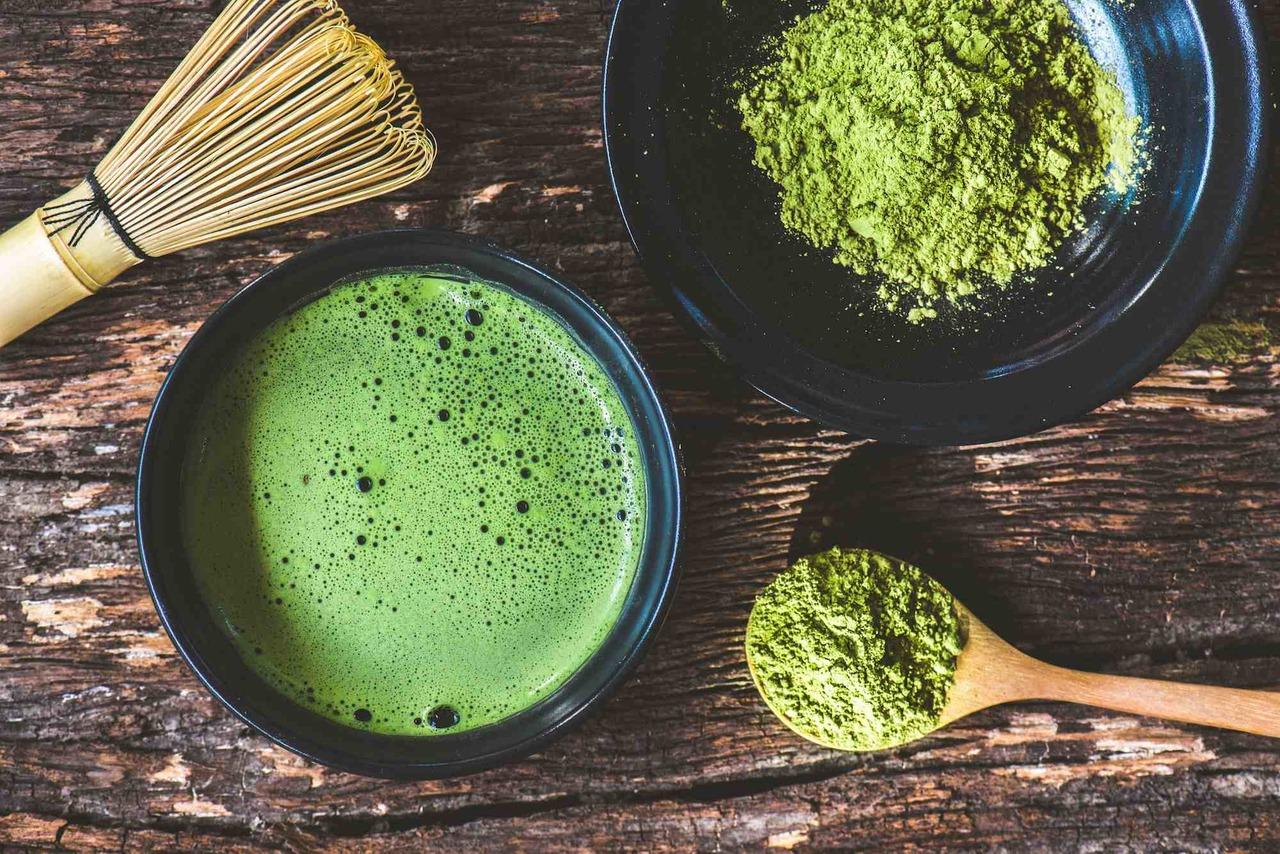 Beneficios de beber té de matcha