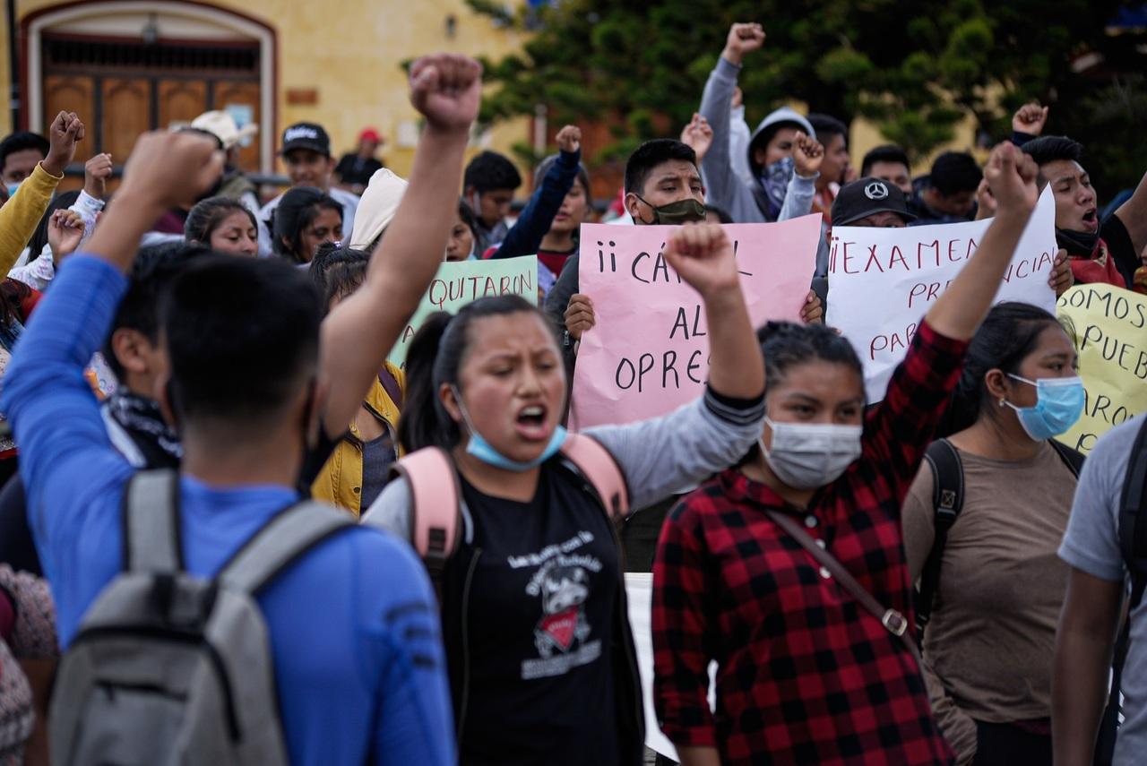 Juez ordena liberar a normalistas de Mactumatzá