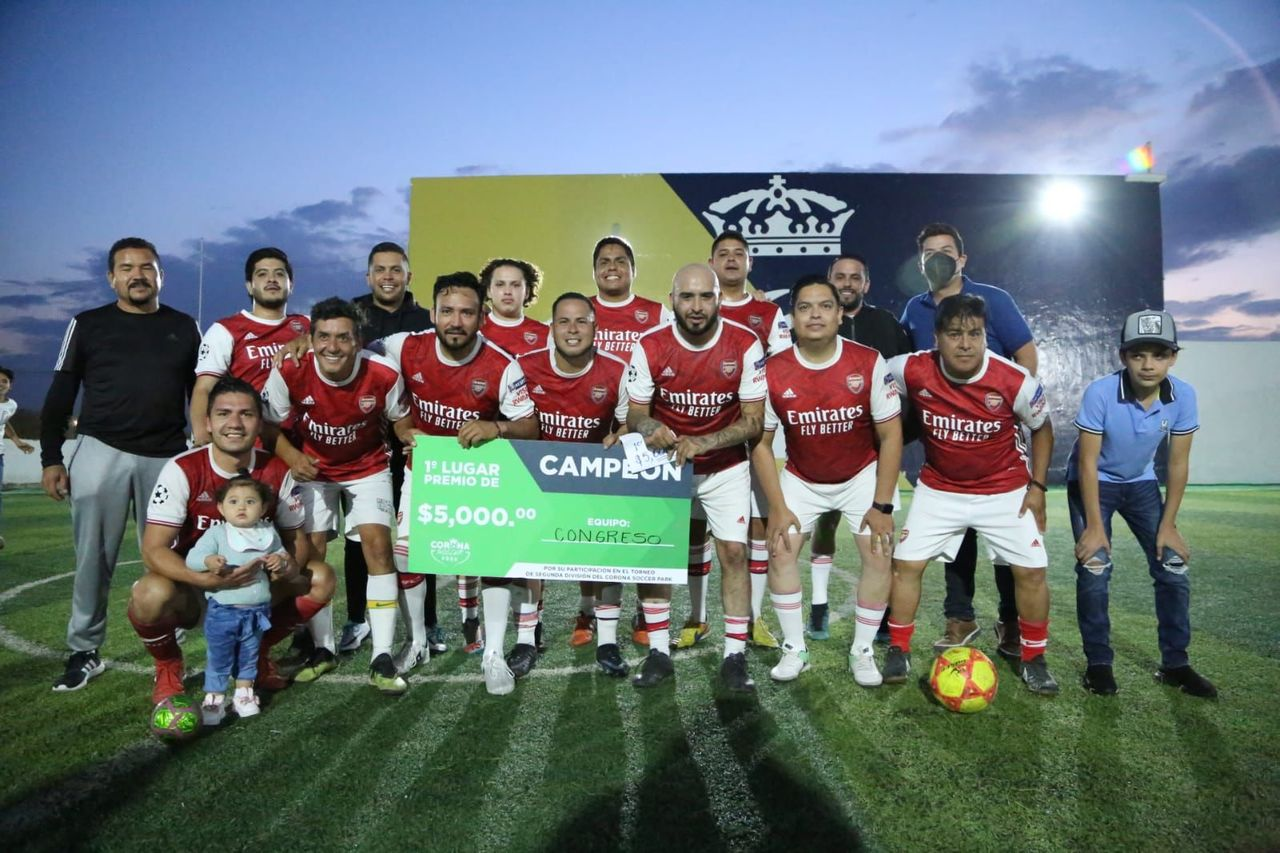 Congreso FC se corona en Segunda