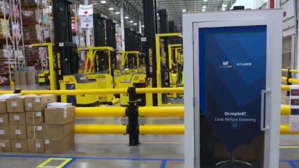 Crea Amazon cabinas de relajación para empleados