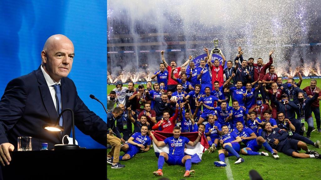 Cruz Azul recibe mensaje de la FIFA tras el campeonato