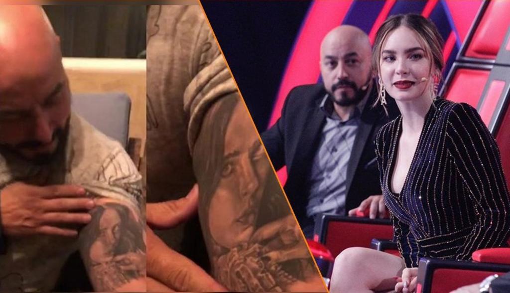Lupillo Rivera también se quitó su tatuaje de Belinda