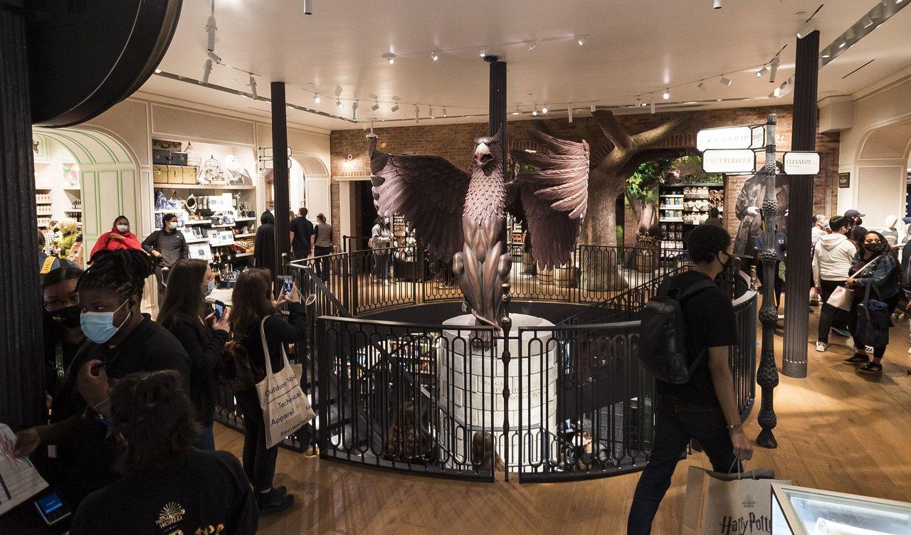 El universo mágico de Harry Potter abre nueva 'sede' en Nueva York