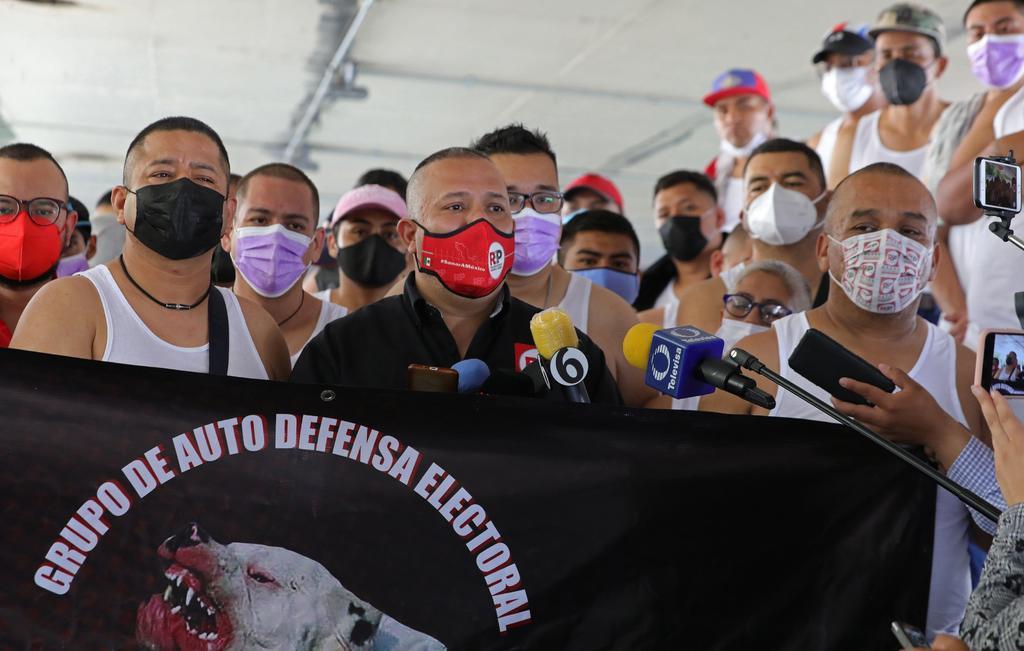 Disuelven a presuntas autodefensas del partido RSP en CDMX