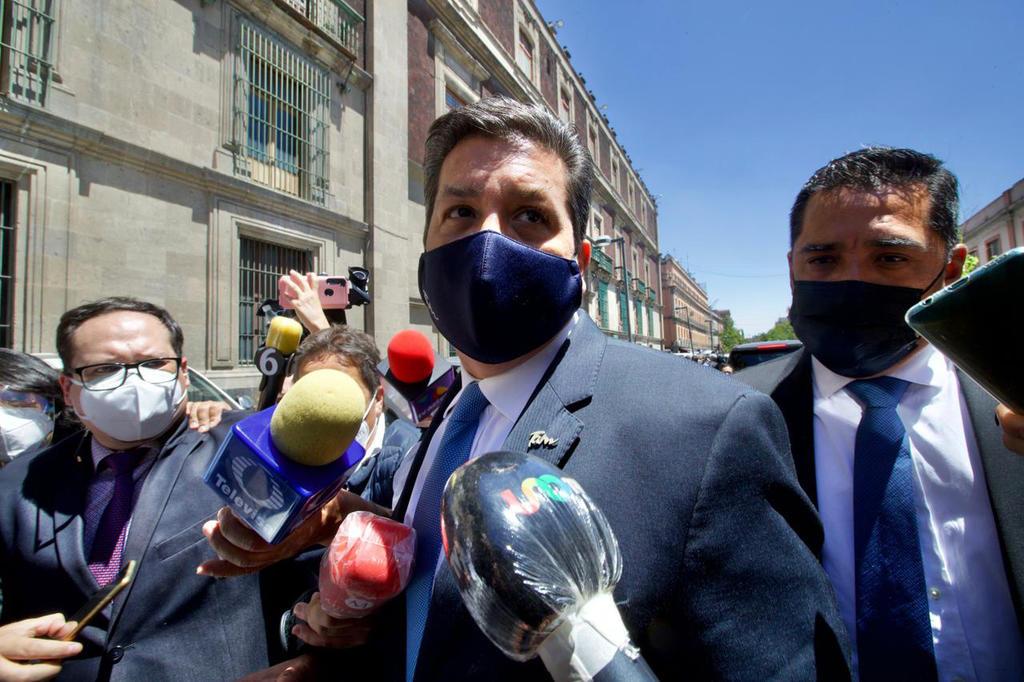 Paga gobernador de Tamaulipas garantía por 100 mil pesos para evitar captura
