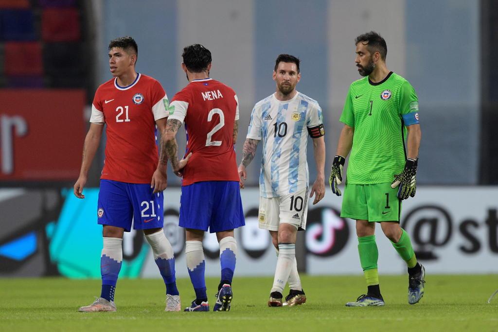Empata Chile a Argentina en eliminatorias para Mundial de Qatar 2022