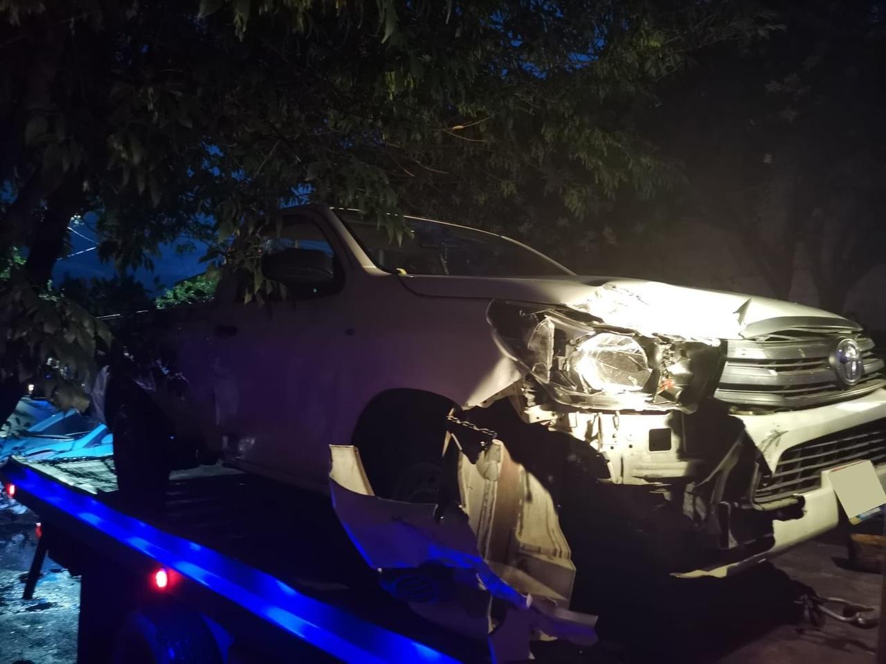 Choque en el Centro dejó cuatro personas lesionadas