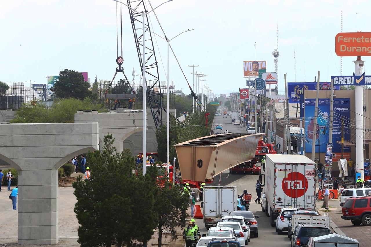 Avisen con tiempo maniobras en puente Francisco Villa: Bracho