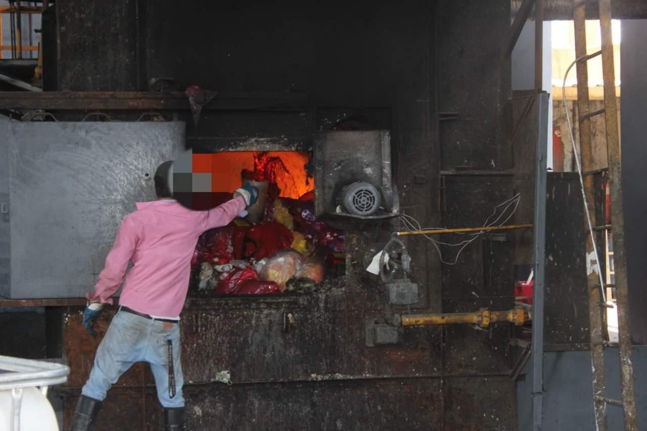 Incinera FGR 14 toneladas de precursores químicos