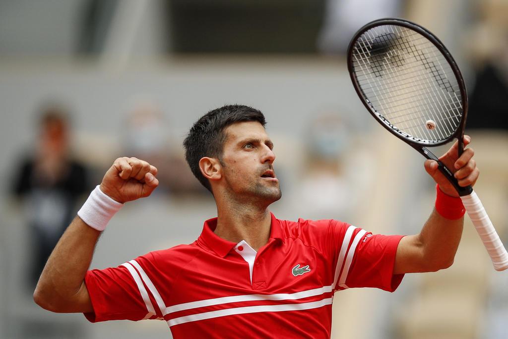 Novak Djokovic disputará la cuarta ronda del Abierto de Francia