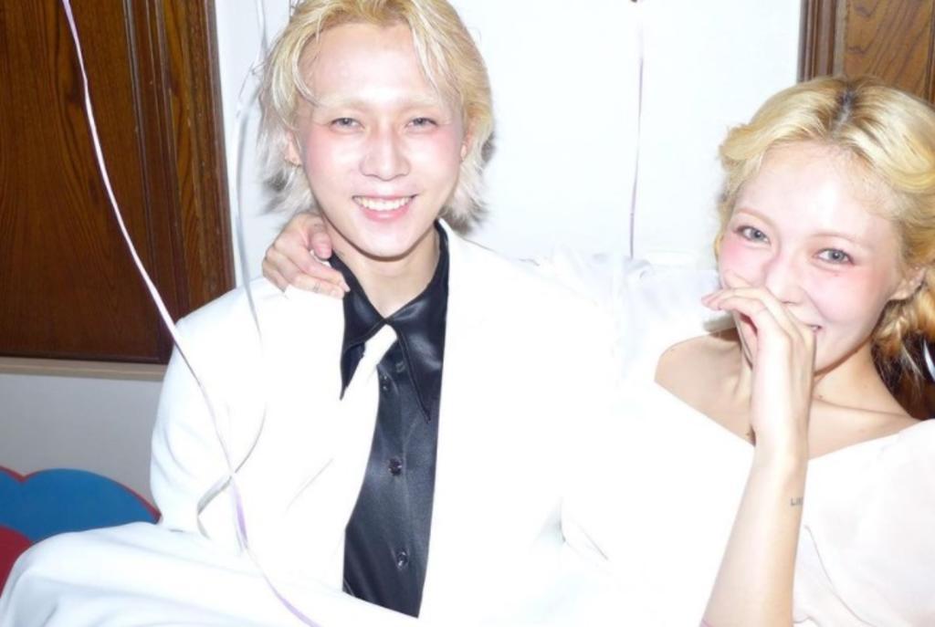 ¿Hyuna y Dawn se casaron? Comparten fotos de la supuesta boda
