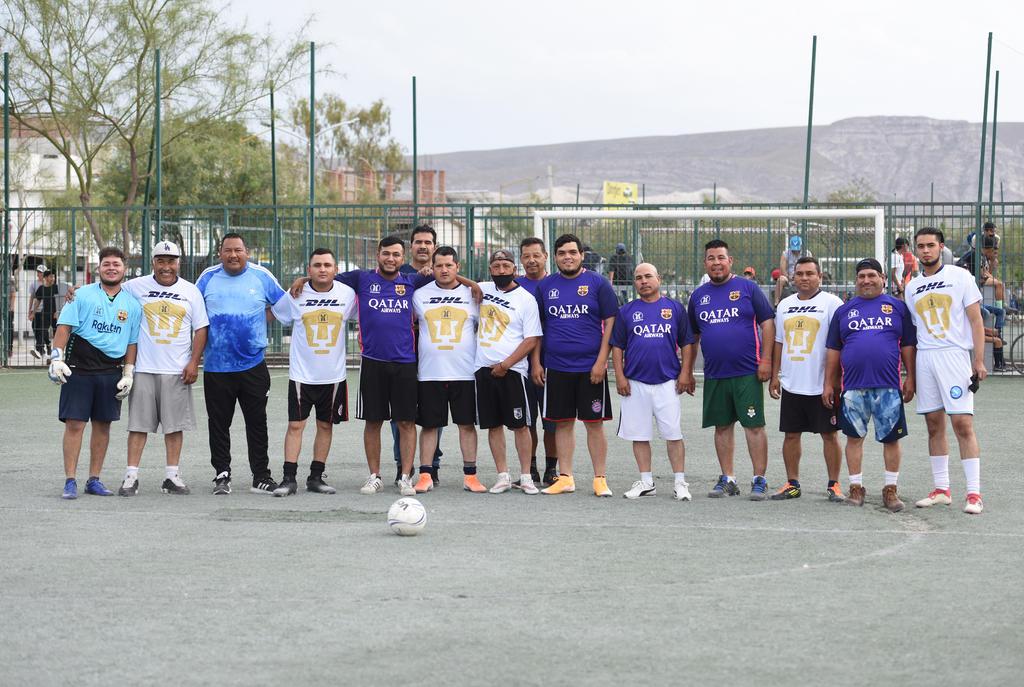 Definen campeón en Torneo de Parques y Jardines de Futbol Siete