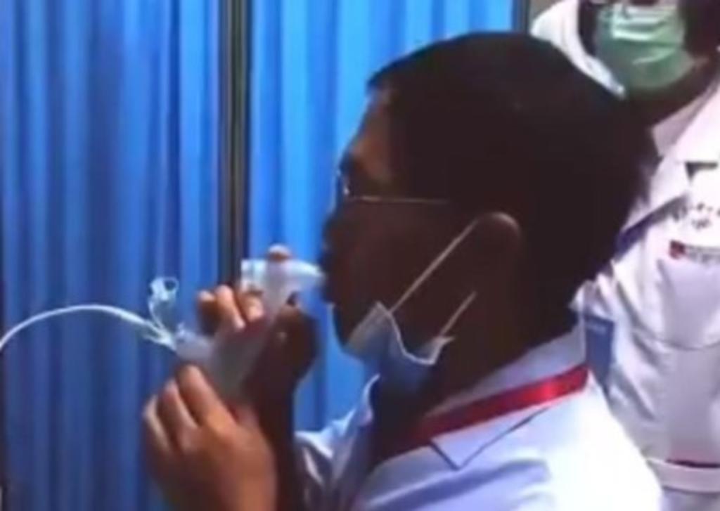 Aprueban vacuna inhalable CanSino contra el COVID
