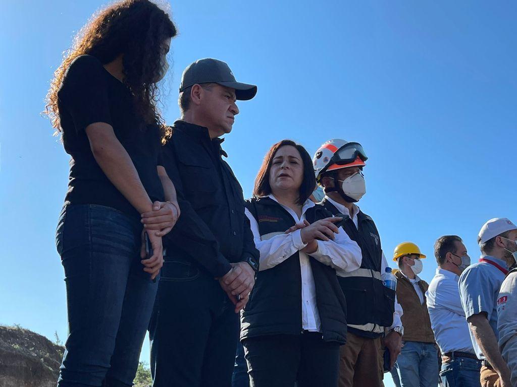 A más de 24 horas transcurridas, autoridades mantienen acciones de rescate de mineros en Múzquiz