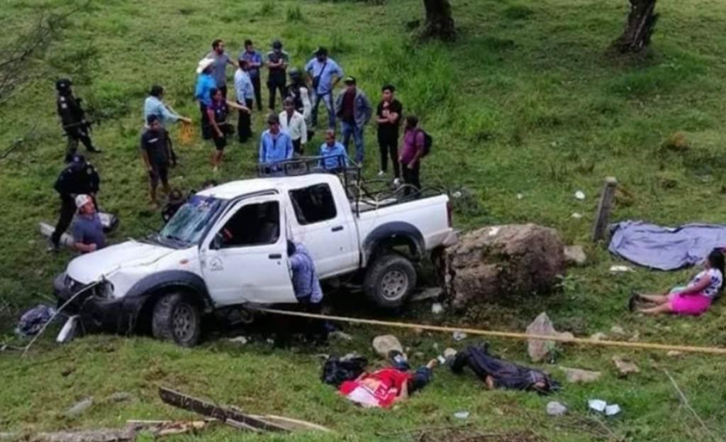 Emboscan a tzotziles que transportaban boletas electorales; hay cinco muertos