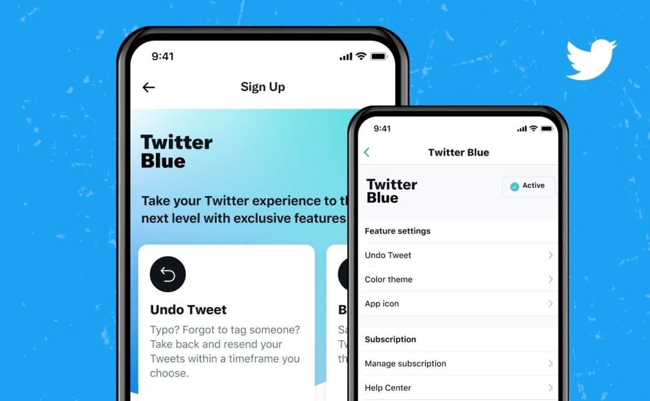 Llega Twitter Blue, el servicio de suscripción de Twitter