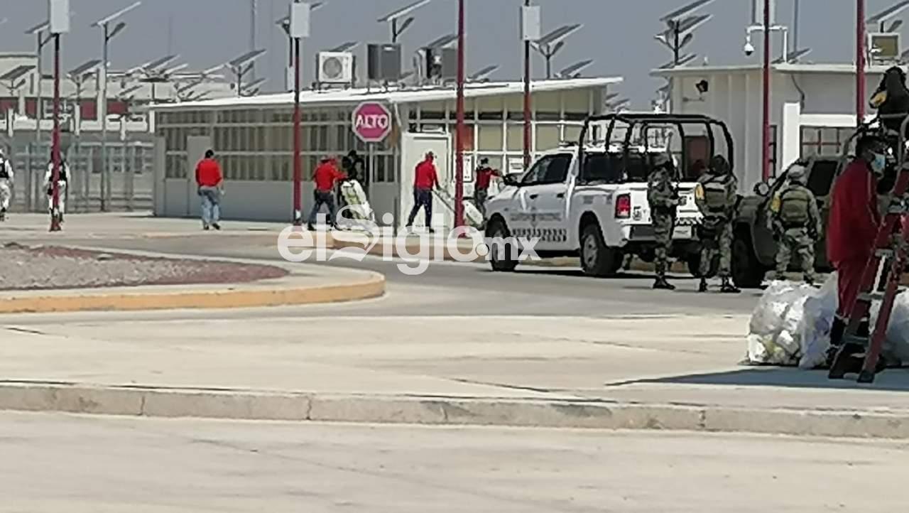 Fuerzas estatales, al margen del motín en Cefereso de Gómez Palacio