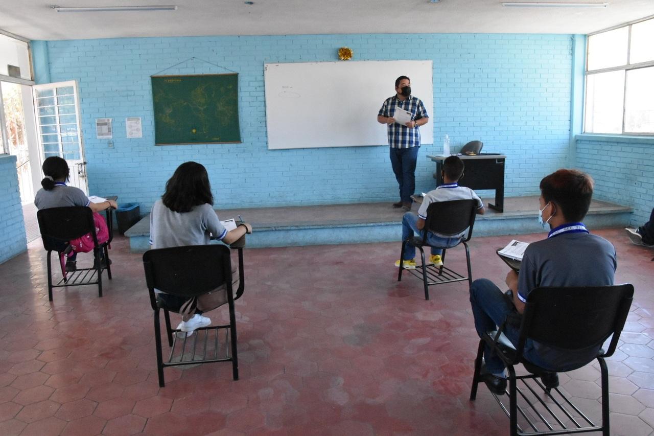 Municipios con menos casos Covid reiniciarán clases clases presenciales