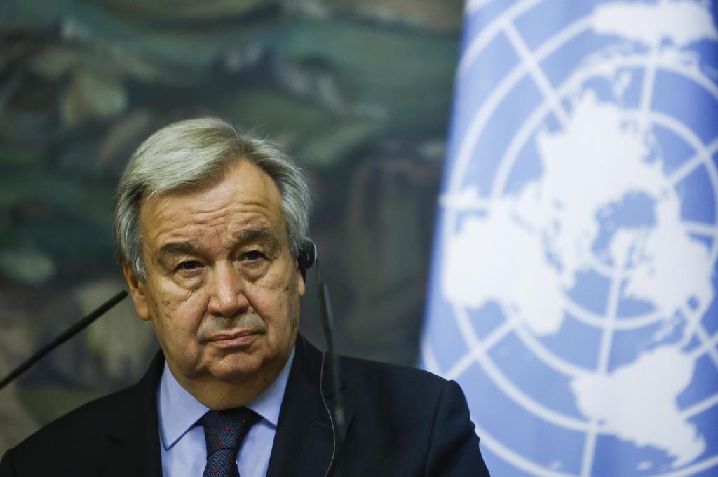 Potencias respaldan a Guterres en la ONU