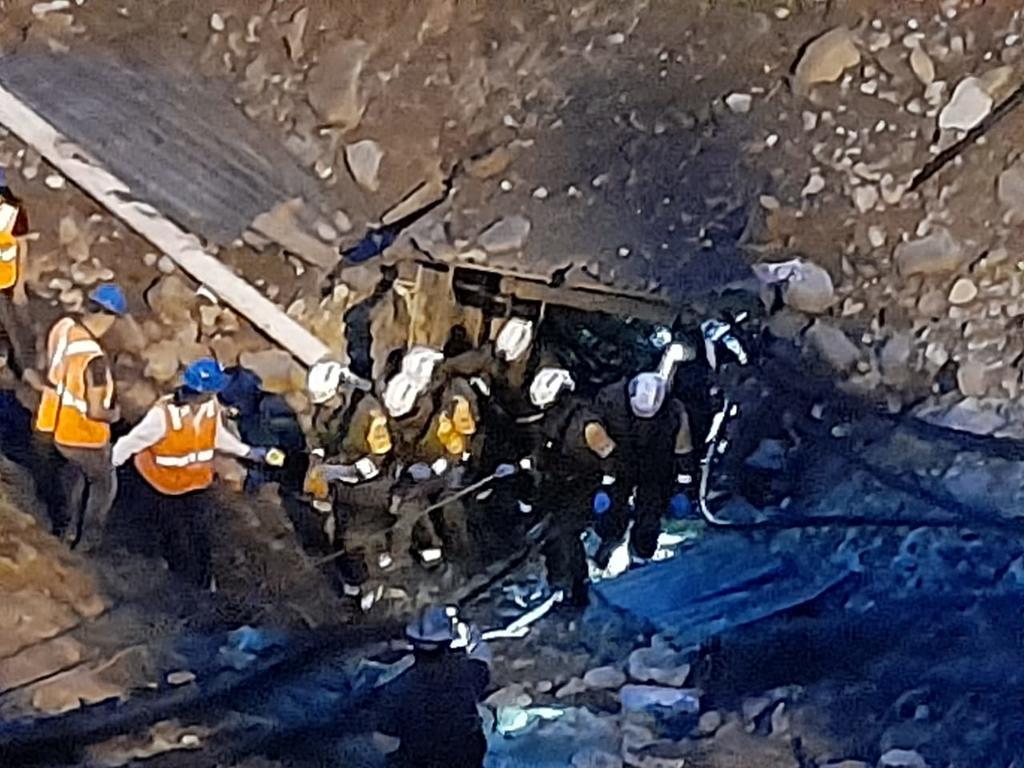 Rescatan cuerpo sin vida de quinto minero en Múzquiz; faltan dos