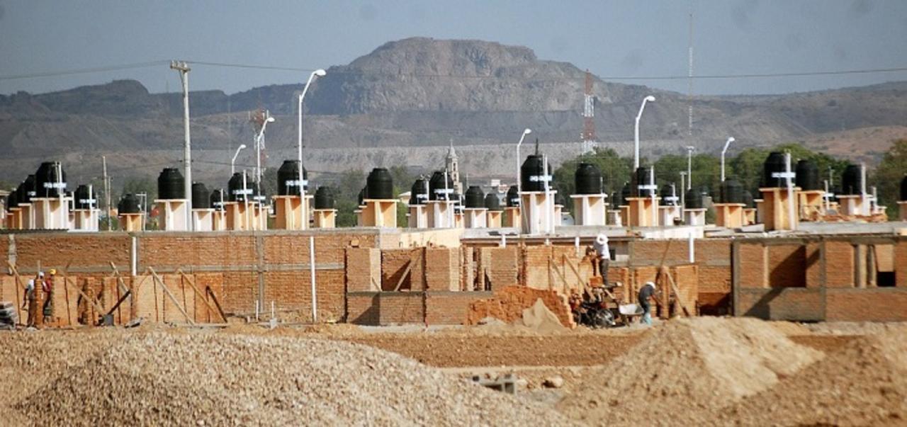 Producción de vivienda en riesgo por falta de agua
