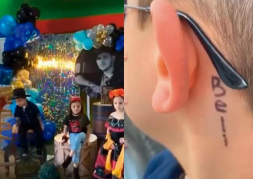 Niño celebra sus 4 años con fiesta temática de Christian Nodal