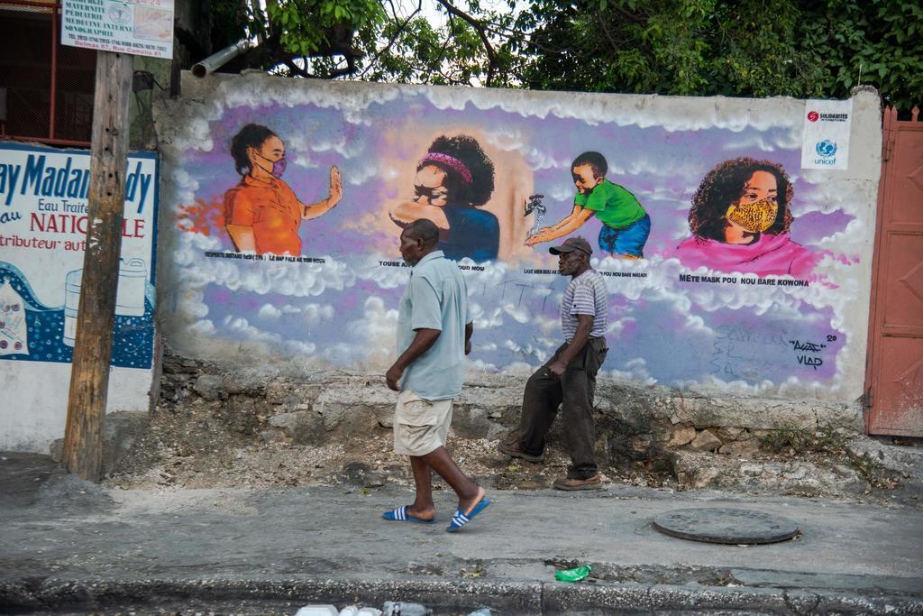 Sufre Haití ola de COVID-19; no ha recibido una sola vacuna