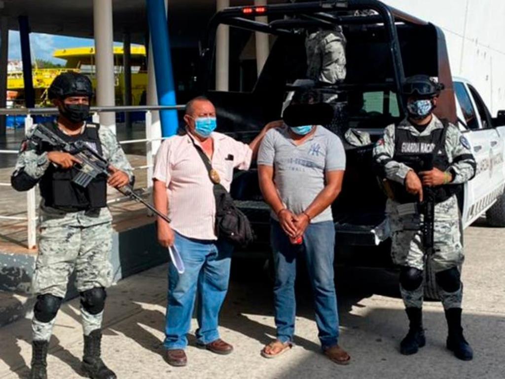 Capturan en Tabasco a probable homicida de joven en Cancún